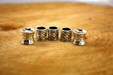 Viking Beard Rings/dreadlock beads/dwarf beard rings