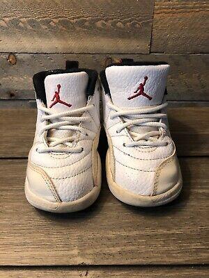 Nike Air Jordan XII 12 Retro TD Toddler 819666 026 Black//Pink Size 7C NEW IN BOX