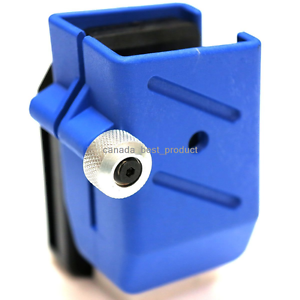Tactical Airsoft Big Dragon IPSC Rotatable Fast Speed Magazine Pistol Pouch Blue