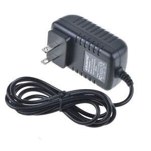 SLLEA AC//DC Adapter Charger for Plustek OpticBook 3600 Flatbed Book Scanner Power Supply Cord PSU