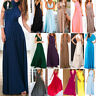 Women Evening Dress Convertible Multi Way Wrap Bridesmaid Formal Long Maxi Gown