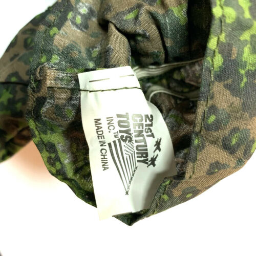 """New 1//6 21st Century WWII Camo Uniform+hat For 12/"""" The Ultimate Soldier GI Joe"""