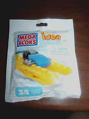 3 NEW MEGA BLOKS IDEA BUILDERS OFFSHORE RACER /& BATTLESHIP /& SPEEDY RACECAR