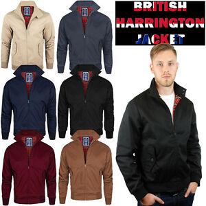 Harrington-Para-Hombre-Chaqueta-oggie76-Original-Scooter-Retro-1970-039-s-Bomber-Top-Coat