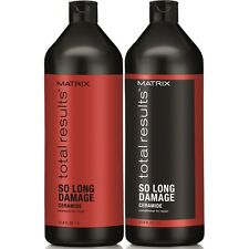 MATRIX NEW TOTAL RESULTS SO LONG DAMAGE SHAMPOO & CONDITIONER 1000ML(was Repair)