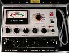 Sencore Cr70 Beam Builder Universal Crt Analyzer Amp Restorer Working
