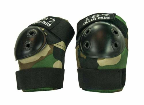 XS , S//M , L//XL camouflage 187 Killer Pads Camo combo knee /& elbow pads