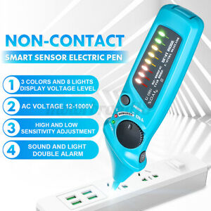 12-1000V-Non-Contact-Voltage-Induction-Test-Pen-Electric-Volt-Tester-Detector