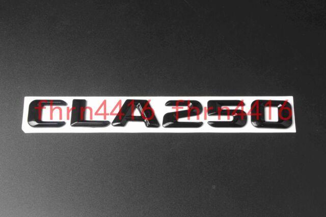 "Glossy Black Mercedes Benz/"" Letters Trunk Emblem Badge Sticker for Mercedes Benz"