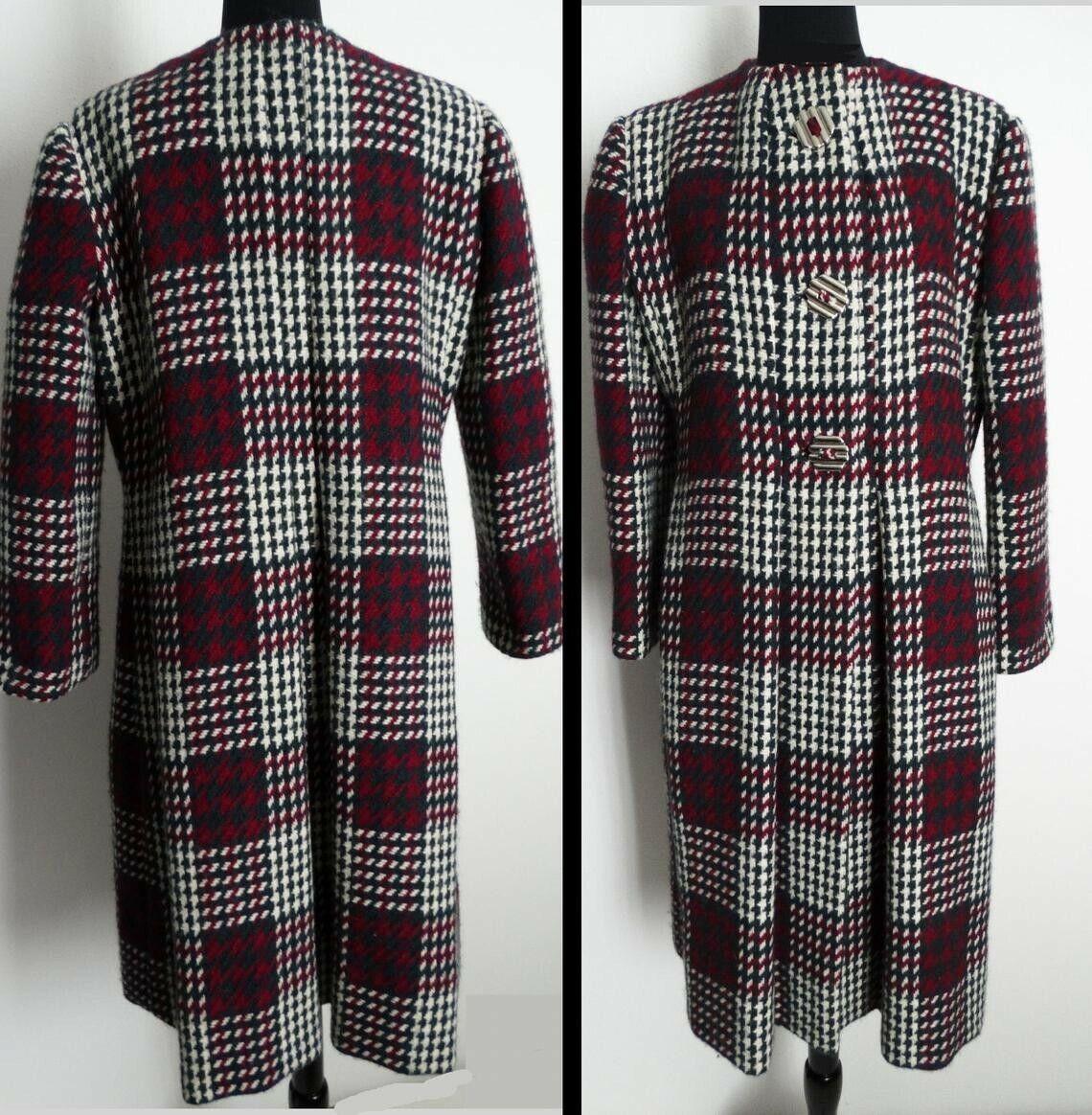 Vintage Pauline Trigere Coat   Designer Coat   Wi… - image 4