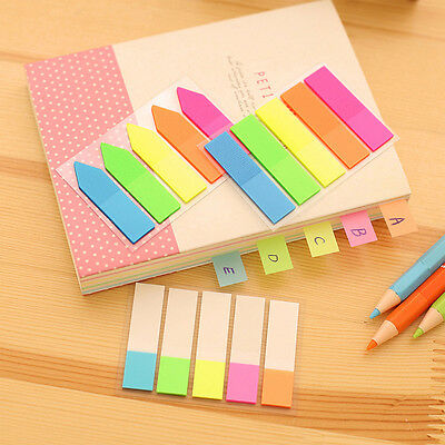Random Page Cute Sticker Post It Bookmark Marker Memo Index Tab Sticky Note
