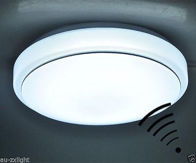 15w PIR motion sensor LED ceiling light body  automatic light  switch AC 220v