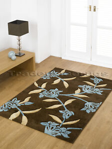 EXTRA-LARGE-THICK-CHOCOLATE-BROWN-TEAL-BLUE-RUG-200x290