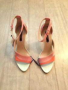 Details about ZARA Women's High Heel Strappy Sandal(Multicolor, US 6EUR 36)