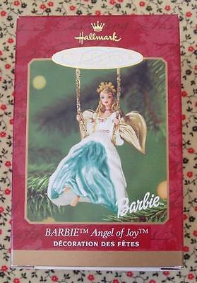 Hallmark 2000 Barbie Angel of Joy on Swing Christmas Keepsake Ornament