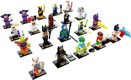 LEGO MINIFIGURES SERIE COMPLETA 20 PERSONAGGI BATMAN MOVIE SERIE 2 71020  NUOVO