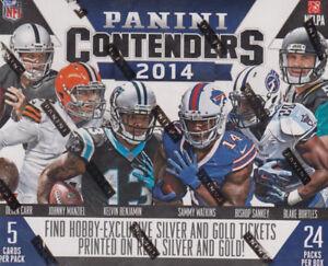 2014-Panini-Contenders-Football-Hobby-Box-Factory-Sealed