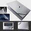 MacBook-Air-Pro-13-15-16-Full-Body-Stealth-Protector-3M-Skin-Vinyl-Decals-Cover thumbnail 1