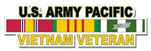 U-S-Army-Pacific-Vietnam-Veteran-5-5-034-Window-Sticker-039-Officially-Licensed-039