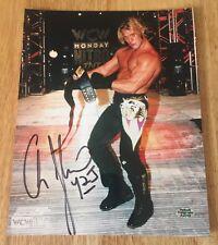 CHRIS JERICHO Y2J Signed Autograph 8x10 Photo WCW WWF WWE ECW TNA & Hologram COA