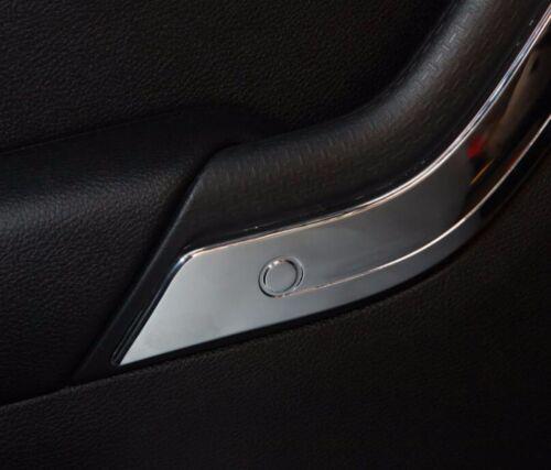 ABS Chrome Car Inner Door Handles Cover Trim fits 2011-18 Jeep Wrangler JK 4dr