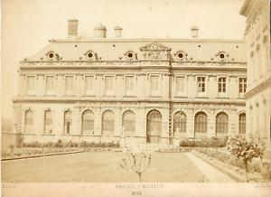 Baldus-Paris-Le-Louvre-galerie-d-039-Apollon-Vintage-albumen-print-Tirage