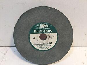 Image is loading Brightboy-Abrasive-Wheel-TT-70-ALO-40-ALUMINUM-