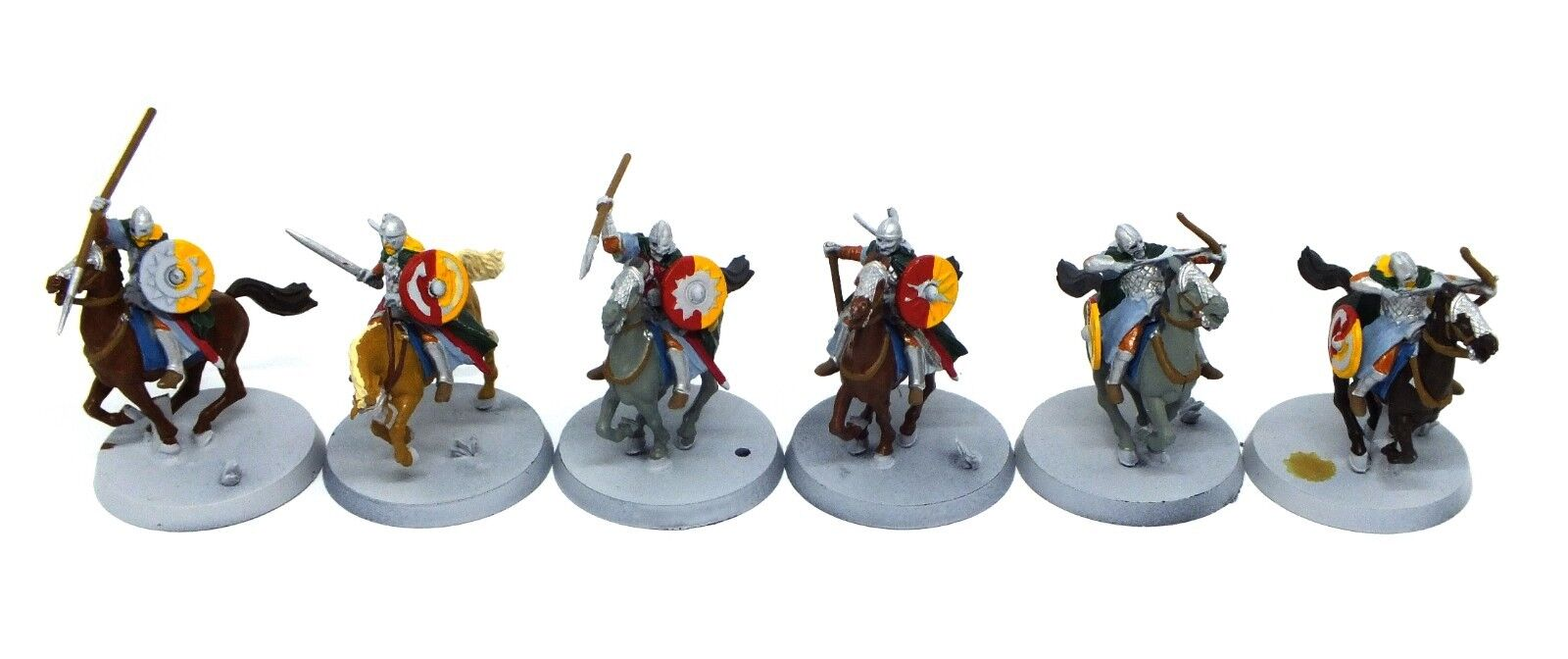 The Lord of the Anneaux - Riders of Rohan (peint) - 28mm