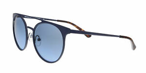 90c64f69c8e26 Michael Kors MK1030 12178F Matte Navy Round Sunglasses 725125998178 ...