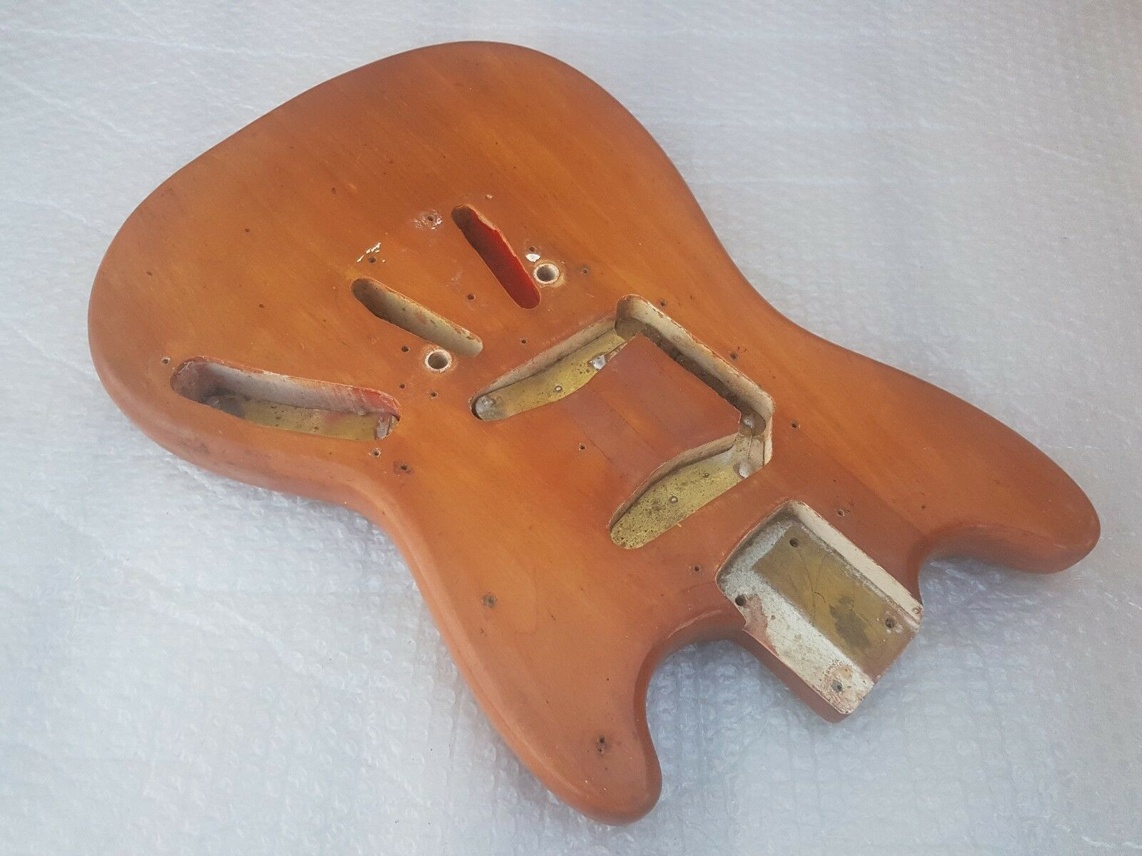 1965 FENDER MUSTANG BODY - made in USA
