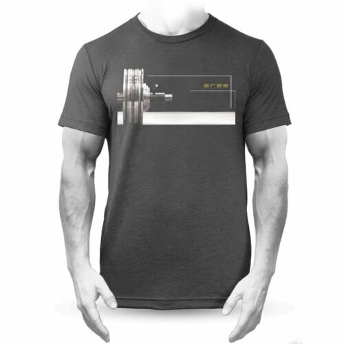 Ares Loaded Black WOD Training T-shirt for Crossfit
