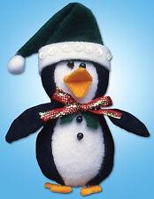 Felt Embroidery Kit ~ Design Works Cute Penguin Christmas Tree Ornament #DW574