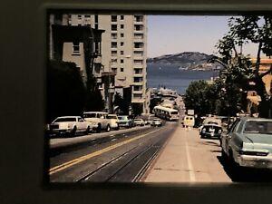 Lot-of-5-San-Francisco-Slides-1970s-110-Vtg-Original-Street-Scenes-Views-Cars