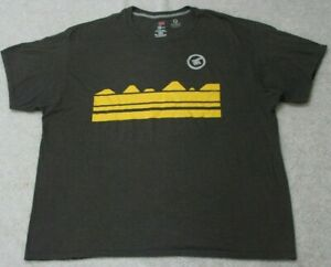 Hanes-X-Temp-Gray-Tee-T-Shirt-2XL-XXL-Cotton-Polyester-Men-039-s-Man-039-s-Short-Sleeve