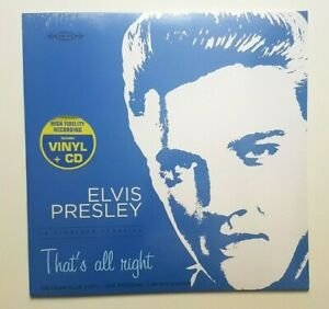 ELVIS-PRESLEY-ONLY-FRENCH-LP-New-amp-Sealed-Blue-Vinyl-Numbered