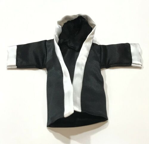 No Figure Black Boxing Robe for 1//12 Storm Collectible Mike Tyson SP-BR-BLK