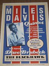 MILES DAVIS CONCERT VINTAGE JAZZ MUSIC  PRINT 18X24 POSTER