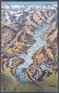 Lago Maggiore Cartina Stradale.Verbania Lago Maggiore 23a Cartina Geografica Cartolina Ebay