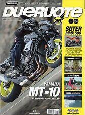 Dueruote 2016 134 Giugno#Yamaha MT-10,jjj