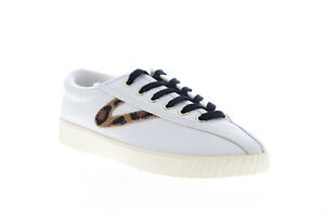 Tretorn-Nylite-25-Plus-Womens-White-Low-Top-Lace-Up-Lifestyle-Sneakers-Shoes