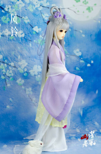 Ancient Chinese Dress Clothes Outfit for Girl SD SD13 1//3 size BJD Fengling set
