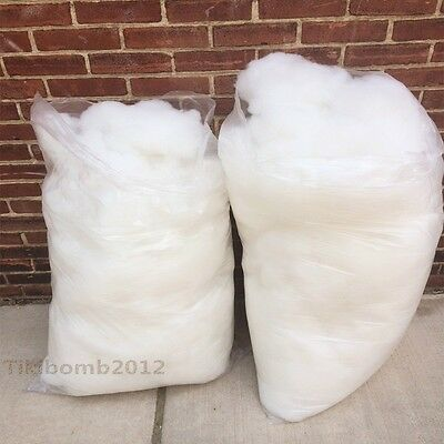 4 Pounds Polyester Fiberfill, Fiber filling, Crafting, Stuffing, Pillow,Cusions