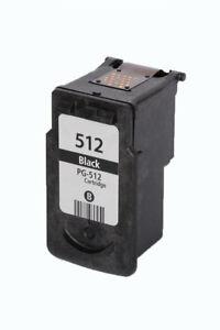Druckerpatrone-fuer-Canon-PG-512-Pixma-IP2700-MP230-MP240-MP250-MP280-480-Schwarz
