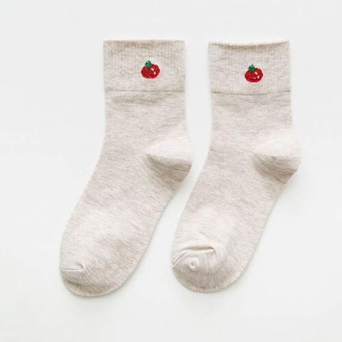 Autumn//Winter Small Pure Fresh Women Socks Vegetables Fruit College Style Socks