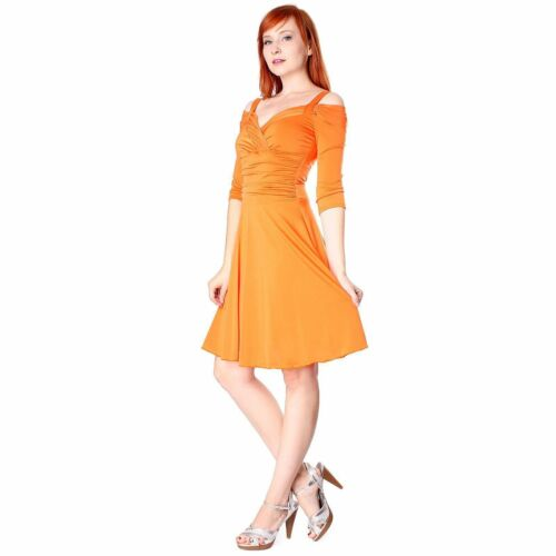 Evanese Women/'s Elegant Slip On Short Cocktail Dress with 3//4 Sleeves