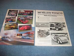 1989 Reading Pa Maple Grove Super Chevy Show Vintage Event Highlights Article Ebay