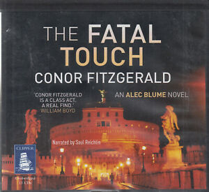 Conor-Fitzgerald-The-Fatal-Touch-13CD-Audio-Book-Unabridged-Alec-Blume-Thriller