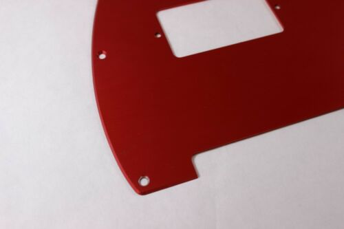 Red Anodized  Aluminum Humbucking Tele Pickguard Fits Fender Telecaster