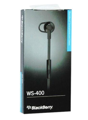 Headphone with Mic black BlackBerry WS-400