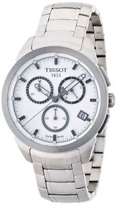 Tissot-Men-039-s-T-Sport-Titanium-Bracelet-Chronograph-Quartz-Watch-T0694174403100